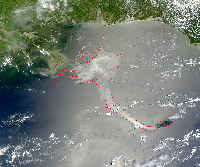 May 17, 2010 MODIS Image
