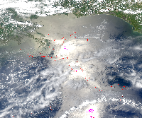 May 18, 2010 MODIS Image
