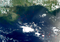 May 28, 2010 MODIS Image