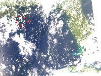 July 17, 2010 MODIS Image
